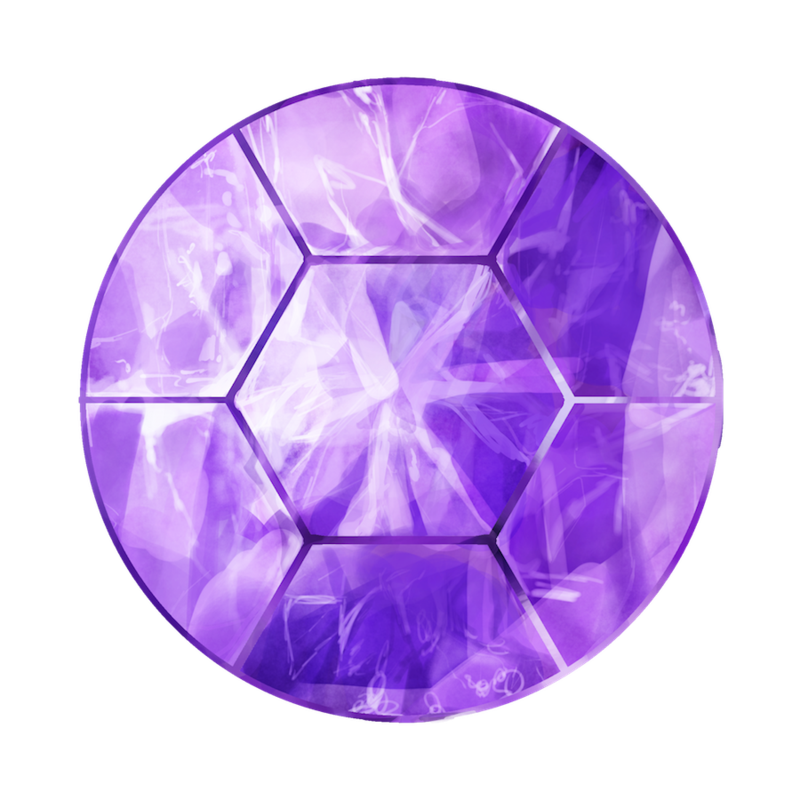 Painting by aellaeart on. Transparent gem amethyst banner royalty free download