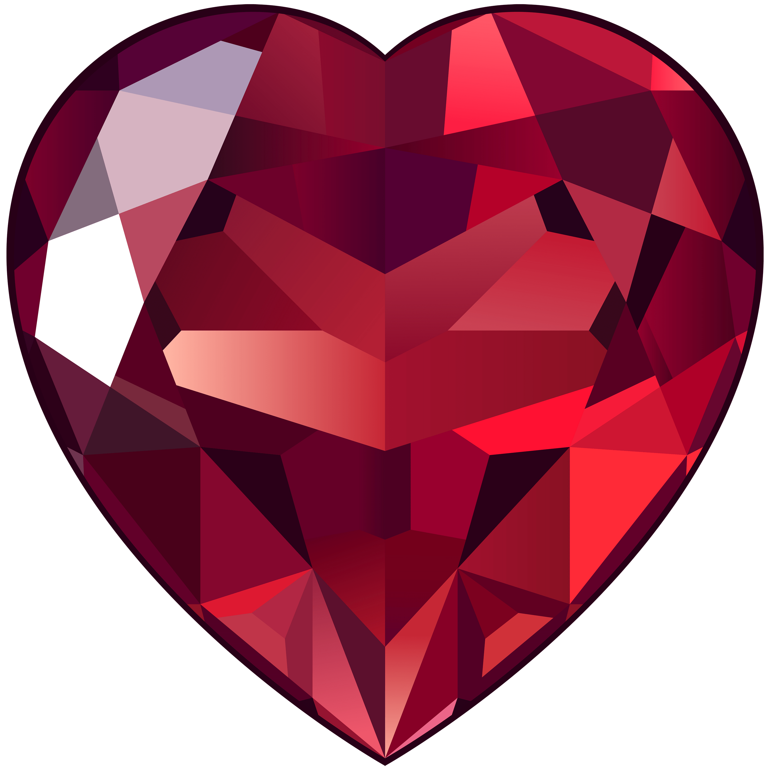 Gem transparent ruby. Png stickpng large heart