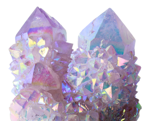 Candied moon my collection. Mining drawing quartz crystal vector library