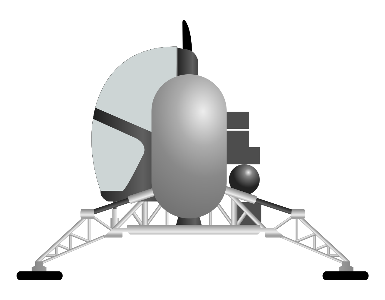 apollo spacecraft clipart - HD 1280×997