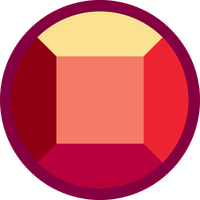 Gems vector. Steven universe ruby by