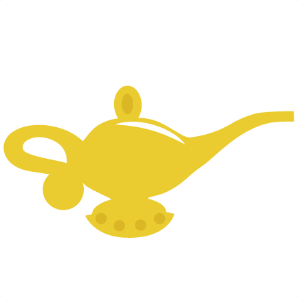 Genie bottle png. Lamp svg file for