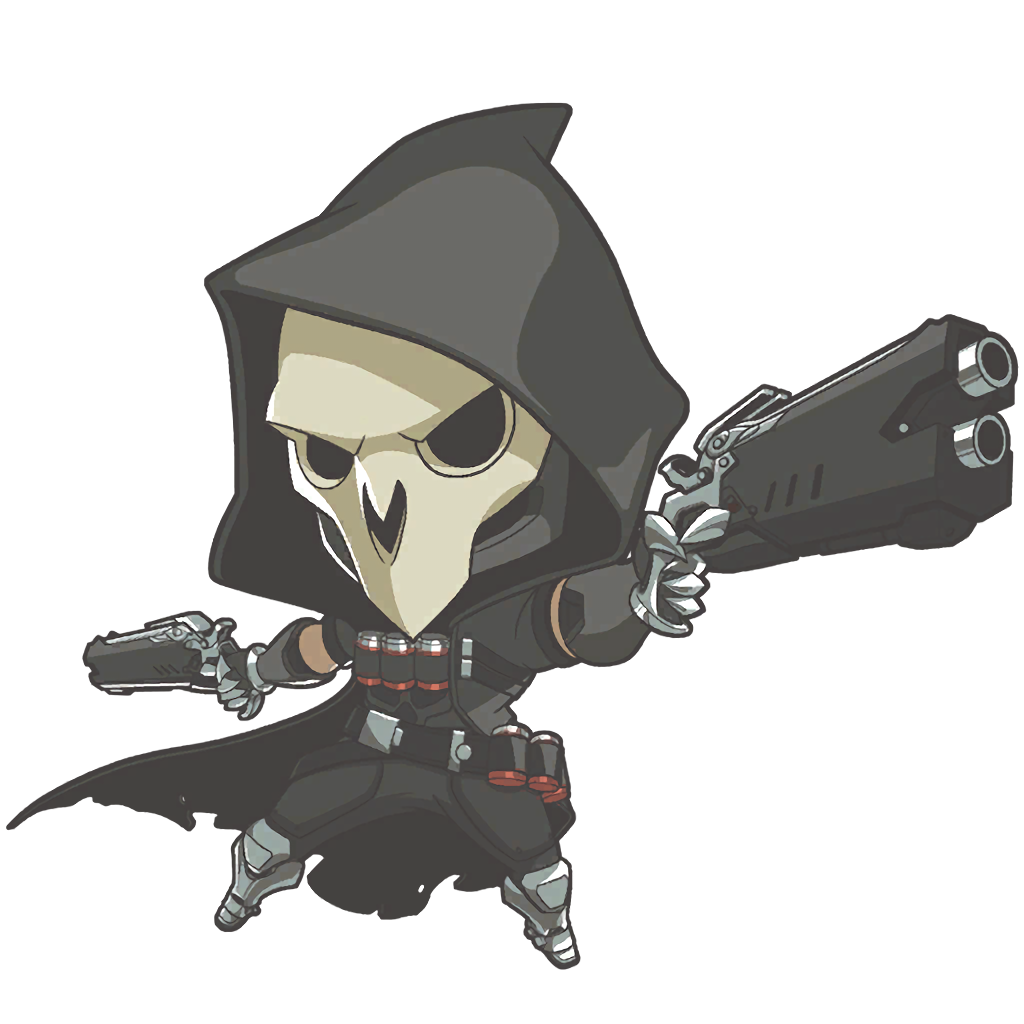 Play of the game overwatch png. Image reaper cute wiki
