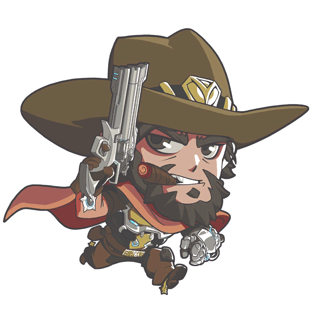 Mccree hat png. Image cute overwatch wiki
