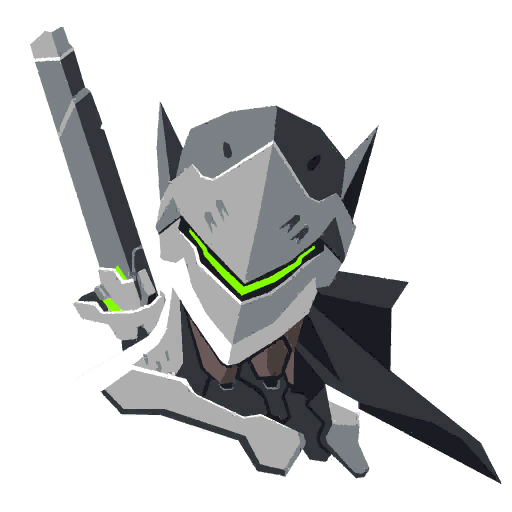 Genji spray png. Warrior overwatch fandom