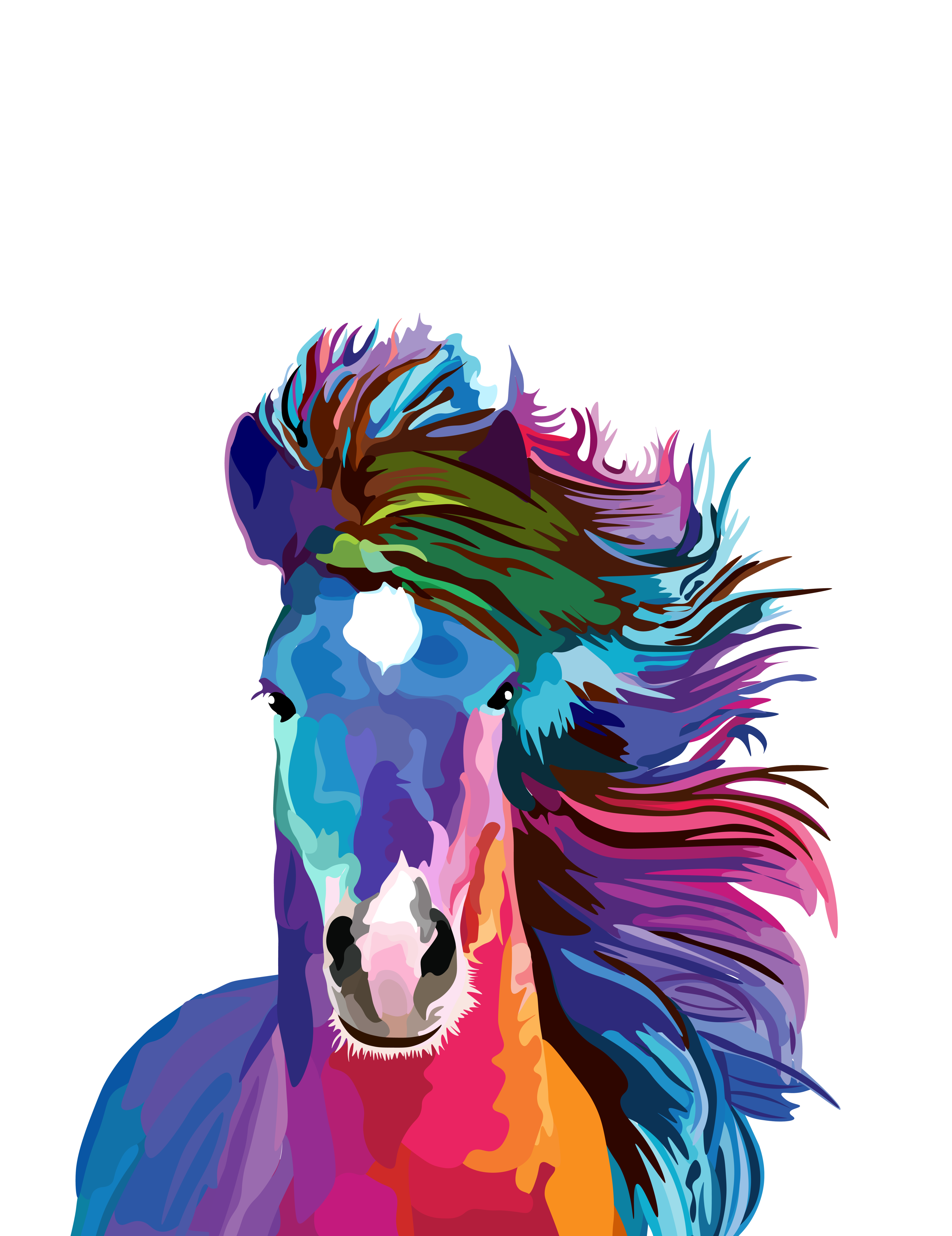 Popart horse casetify iphone. Sweet drawing pop art banner library stock