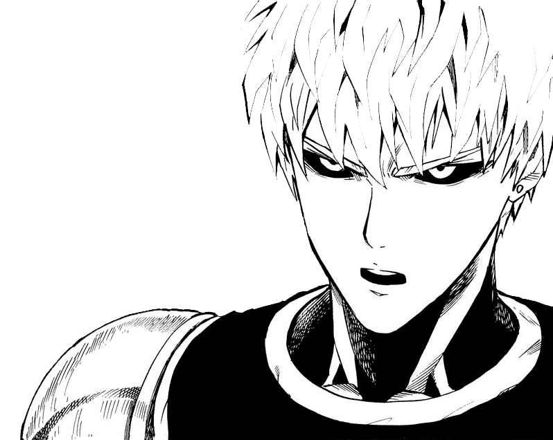 Genos transparent. By midotchii on deviantart