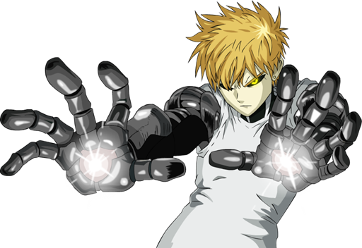 Genos transparent one punch man. Backstory from play online