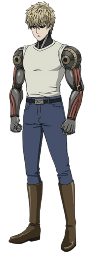 Genos transparent one punch man. Characters all the tropes
