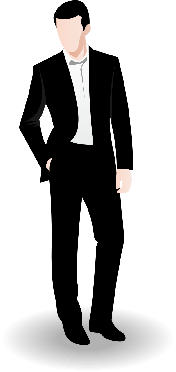Male vector figure. Businessman business man clip
