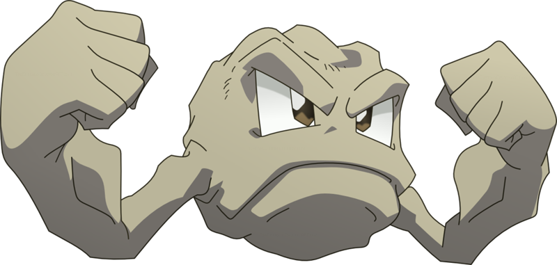 geodude transparent geode