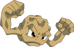 Geodude transparent female. Shiny pok dex stats