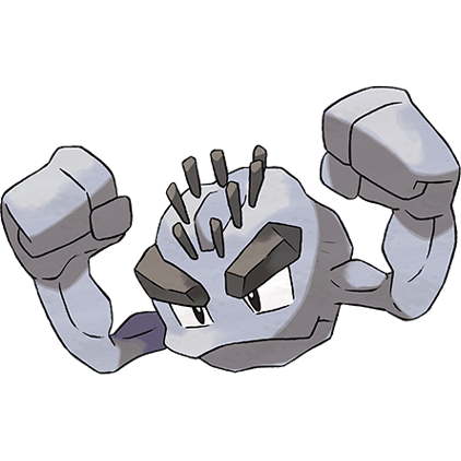 Geodude transparent gen. Not all pokemon are