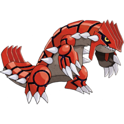 Groudon transparent baby. Pokemon ruby sapphire and
