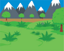 Mountain clipart mountain valley. Free geography clip art