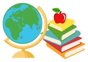Geography clipart. Free image book illustration