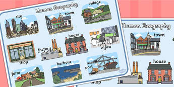 Geography clipart cultural geography. Human and physical ks
