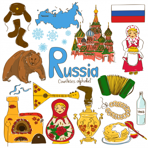 Russia culture map printable. Geography clipart cultural geography picture freeuse download