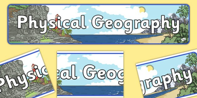 geography clipart physical geography