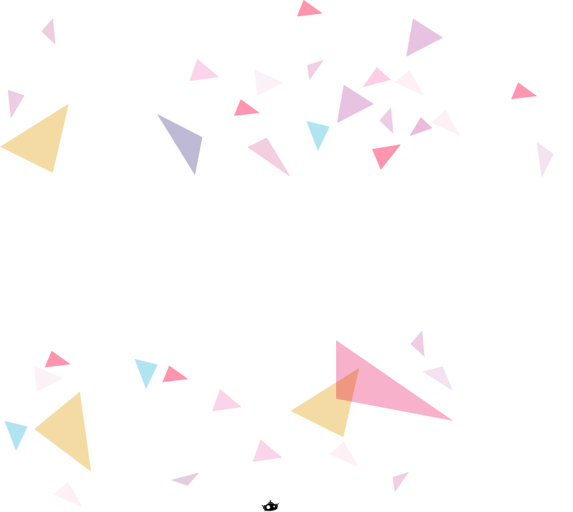 Geometric background png. Paper triangle point pattern