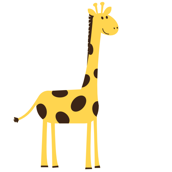 Geometric giraffe svg png free. Clip art images aniamals