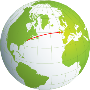 Geometric globe png. Introduction to non euclidean