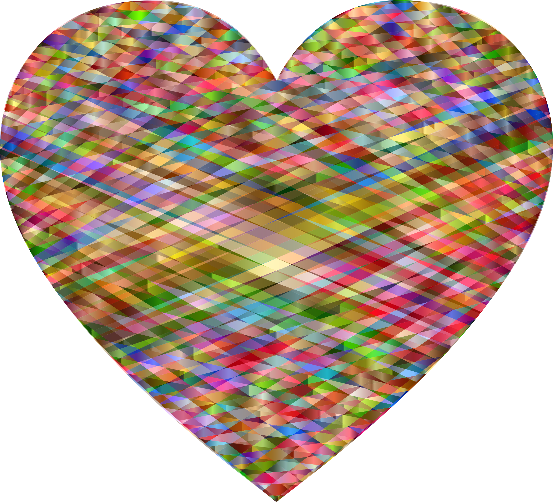 Geometric heart png. Icons free and downloads