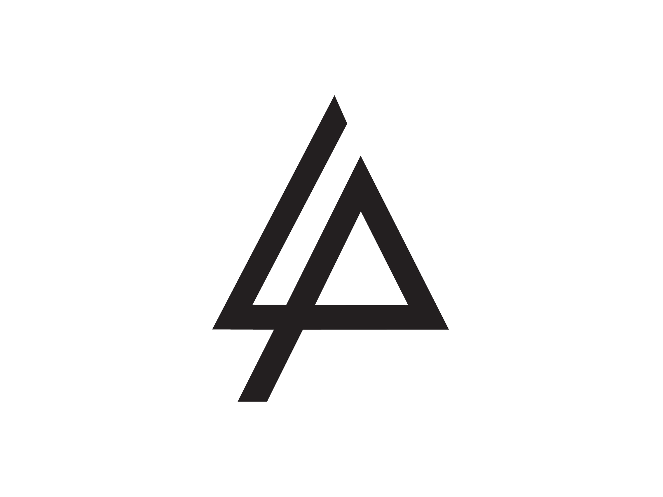 Geometric logo png. Triangle google other di