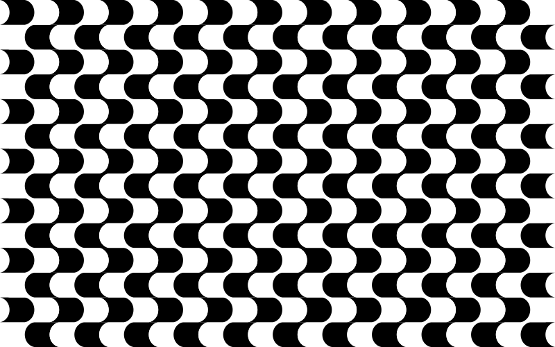Geometric pattern black and white png. Clipart abstract medium image