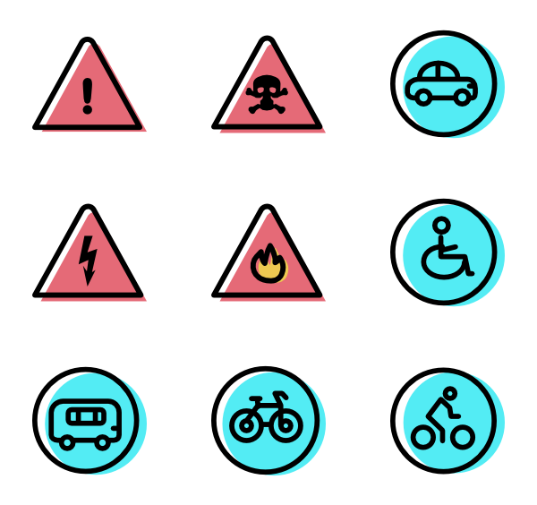 Geometric .png. Triangle icons free vector