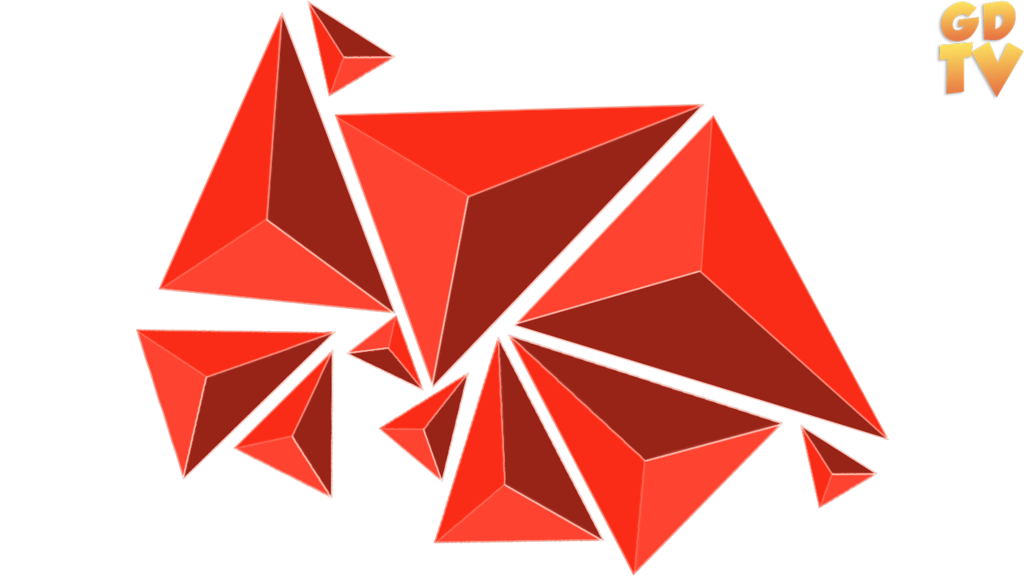 Render images by gamingdeadtv. Geometric shapes png banner stock