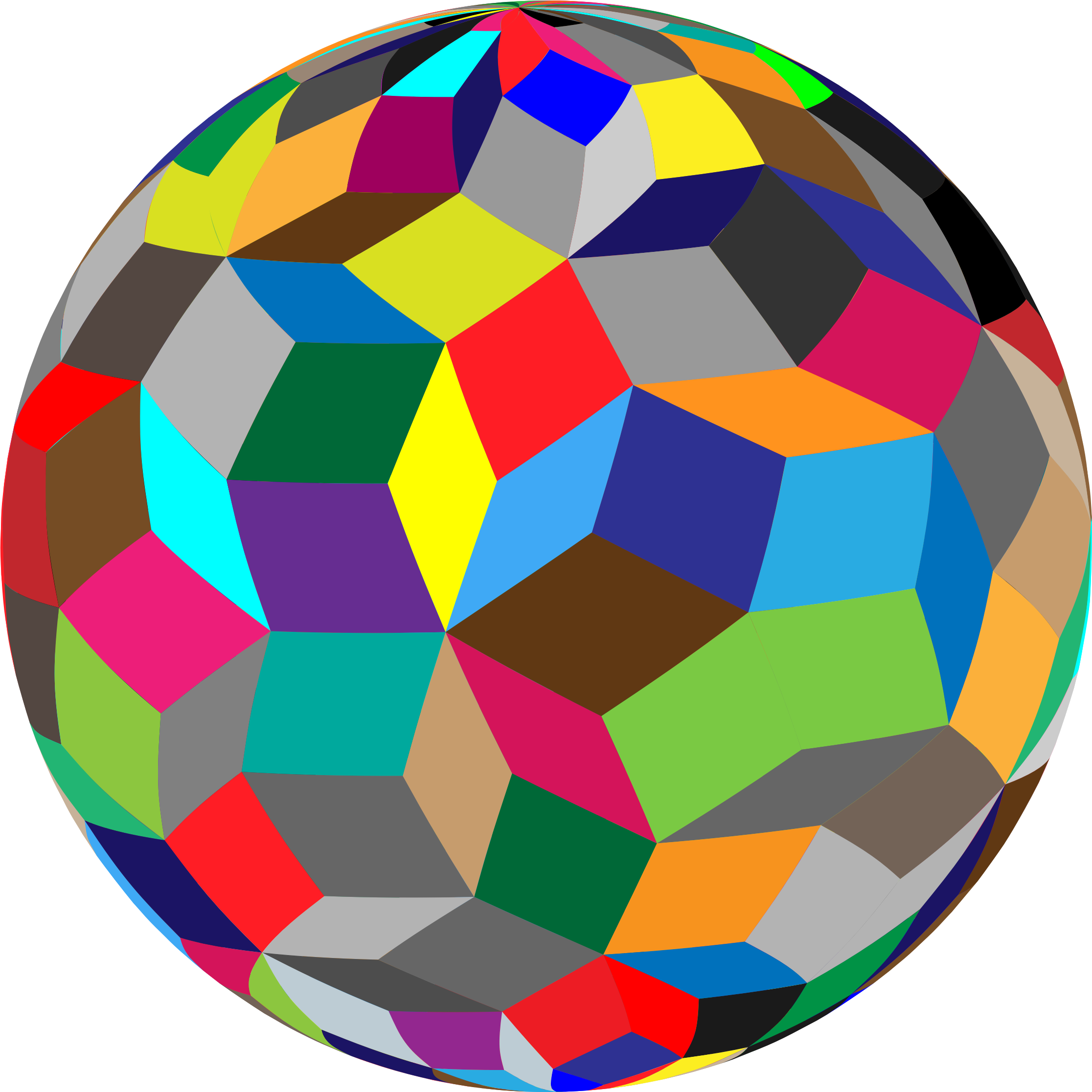 Geometric sphere png. Colorful icons free and