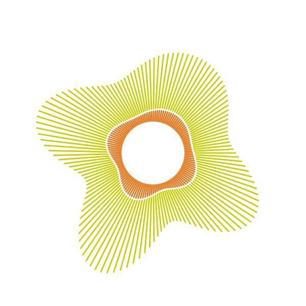 Geometric sun png. Image of the day