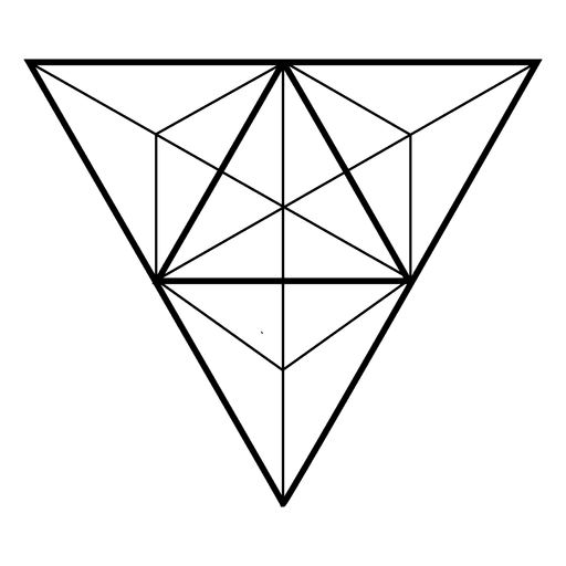 Geometric triangle png. Sacred geometry triangles transprent