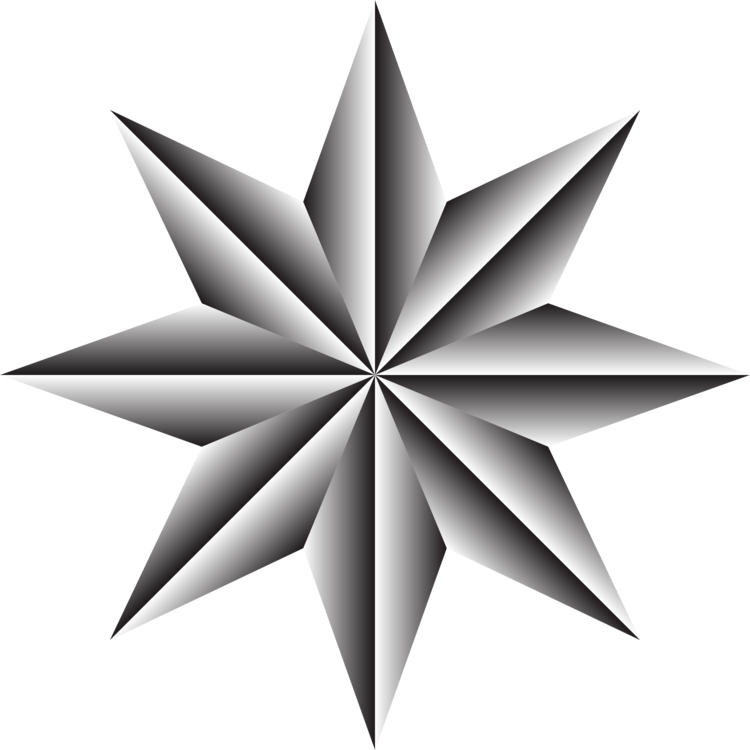 Compass rose nautical star. Drawing north clipart