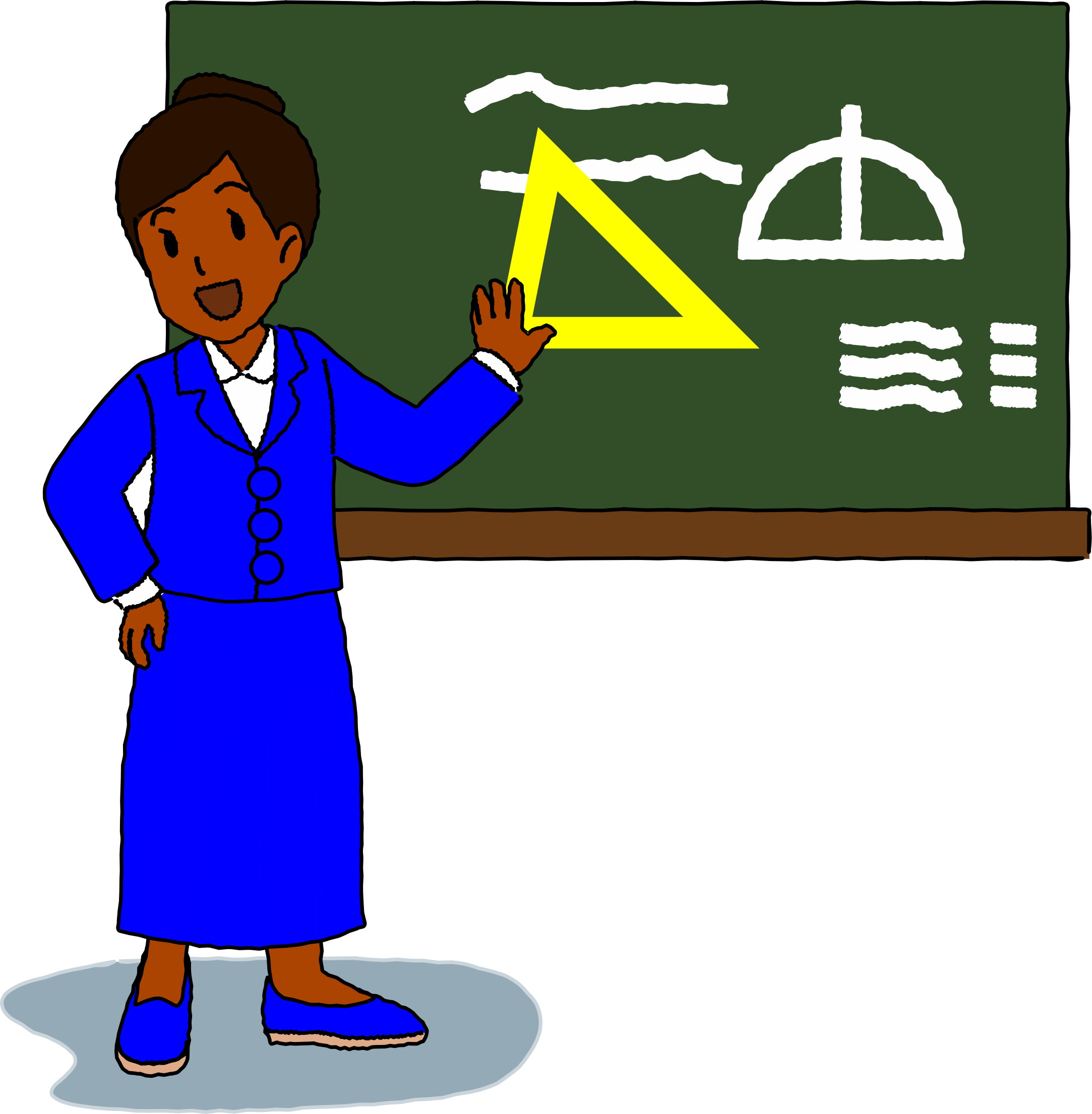 Geometry clipart geometry teacher. Is not a good