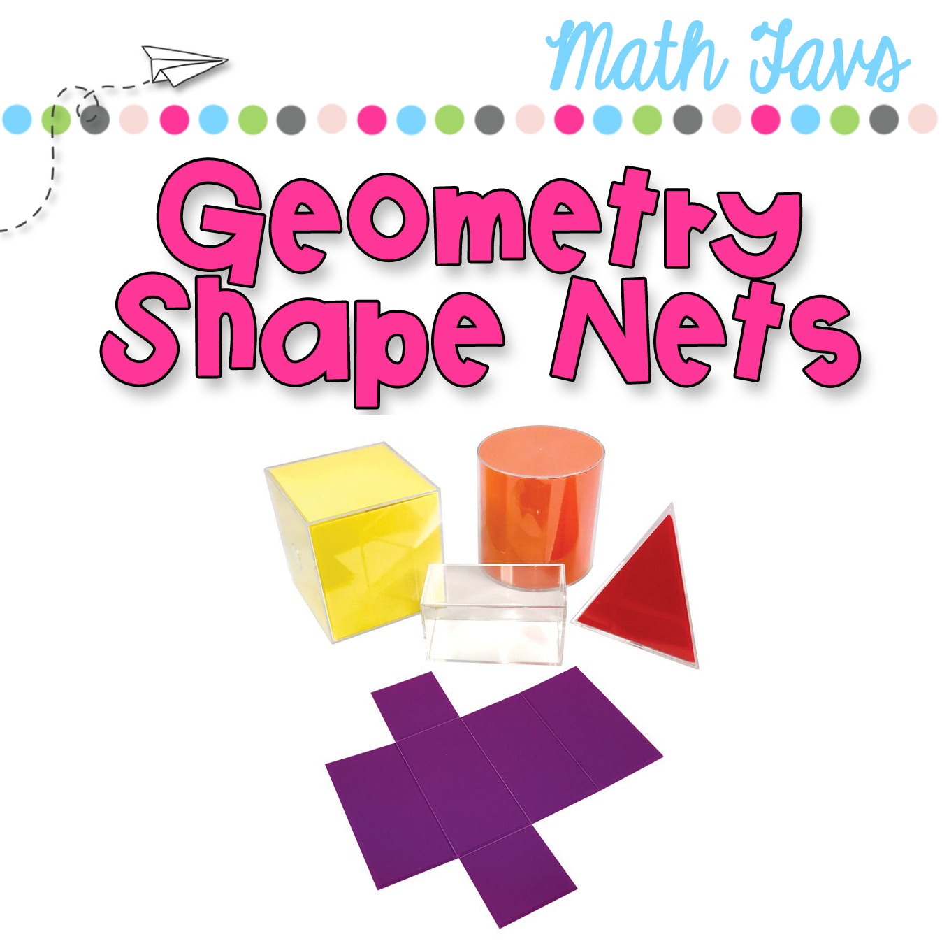 Geometry clipart math skill. Shape nets simply skilled