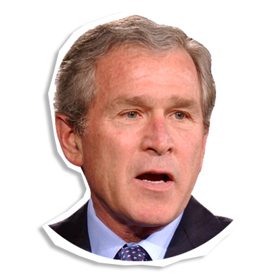 george bush png