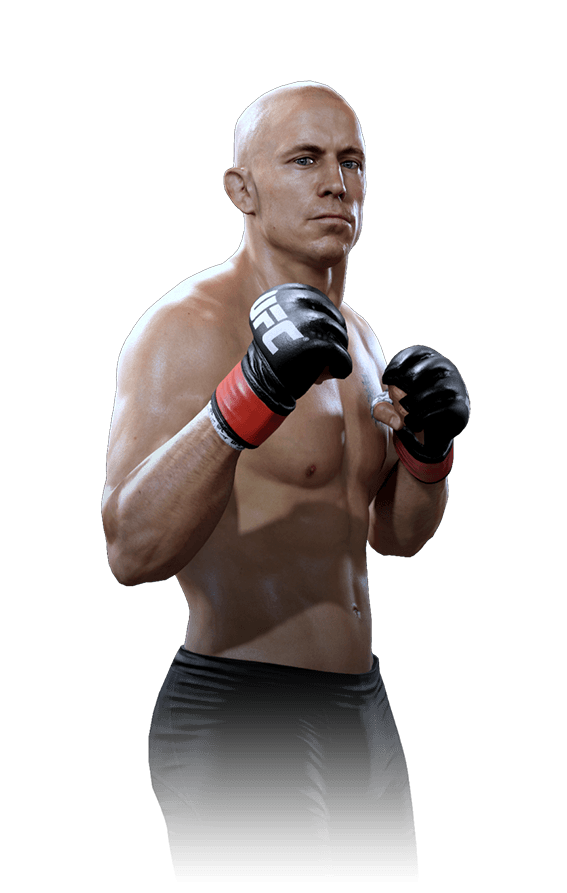 Best ufc fighters gaming. George st pierre png vector royalty free stock