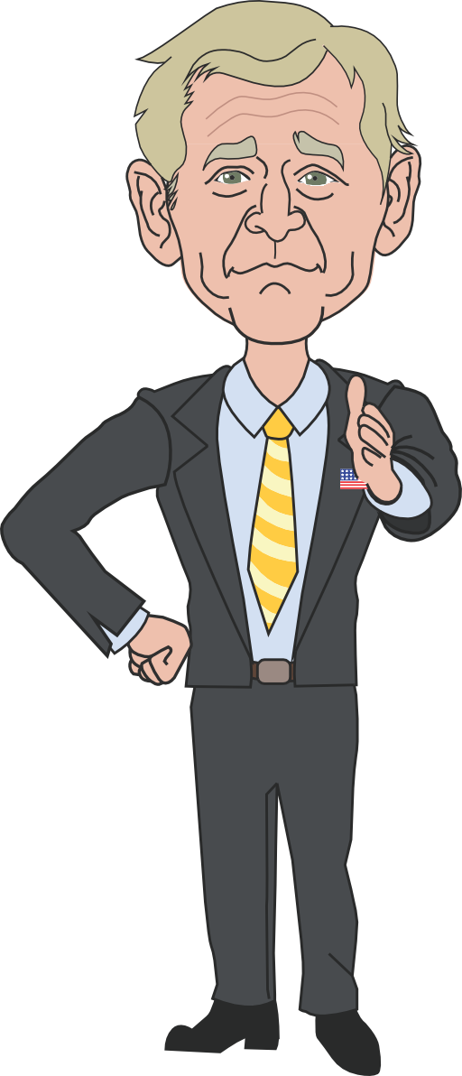 George w bush png. President clipart i royalty