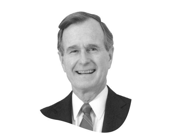 George w bush png. Hire the donald h