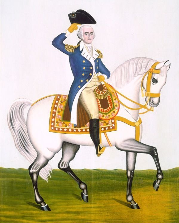 George washington clipart general clipart. On white charger horse