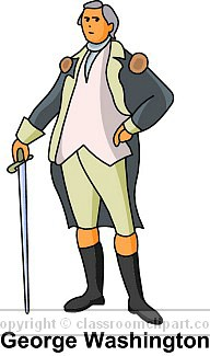 George washington clipart general clipart. President panda free images