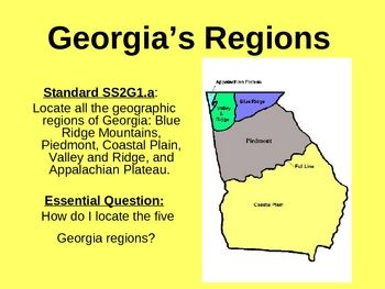 georgia clipart region