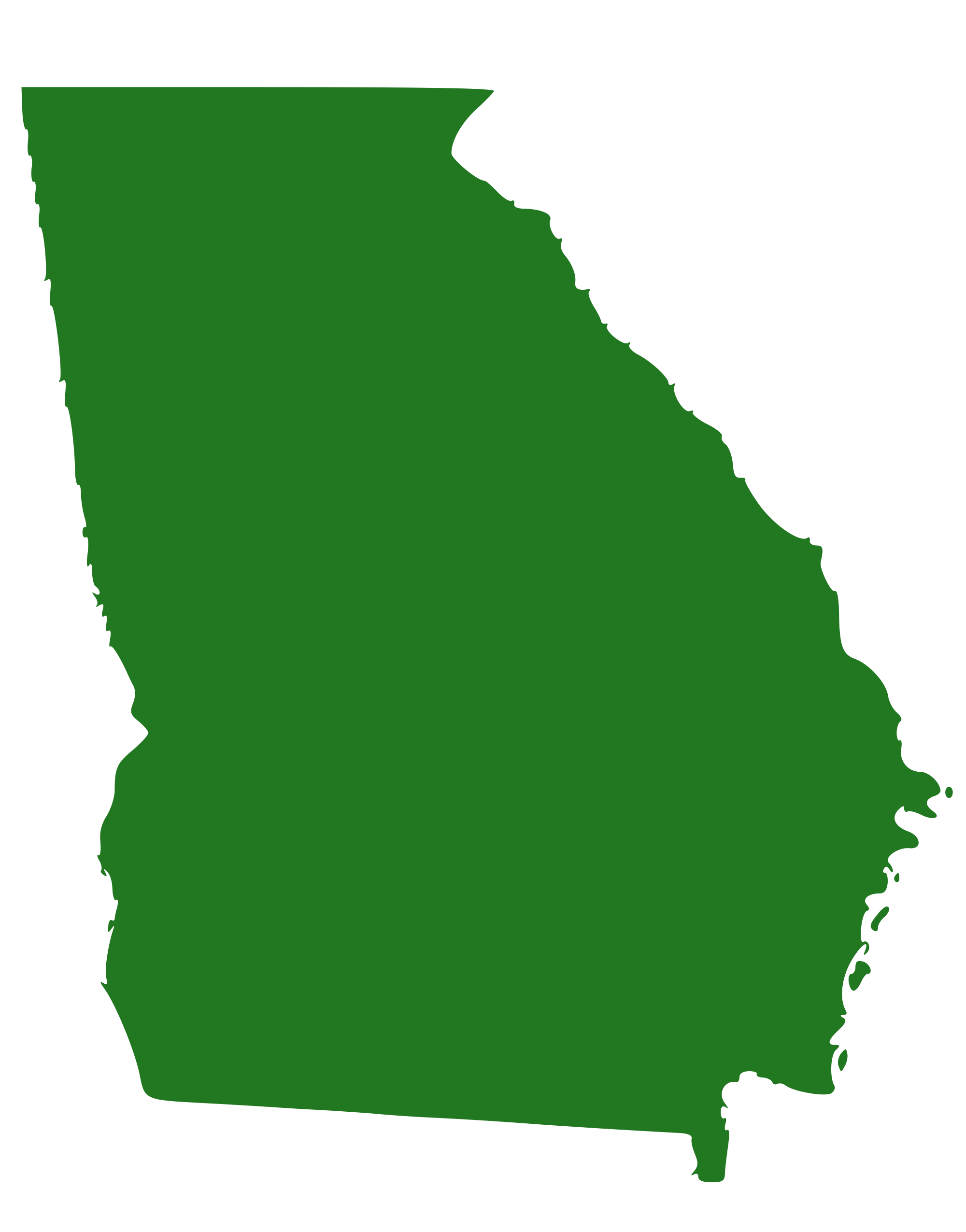 Georgia outline png. File state of svg