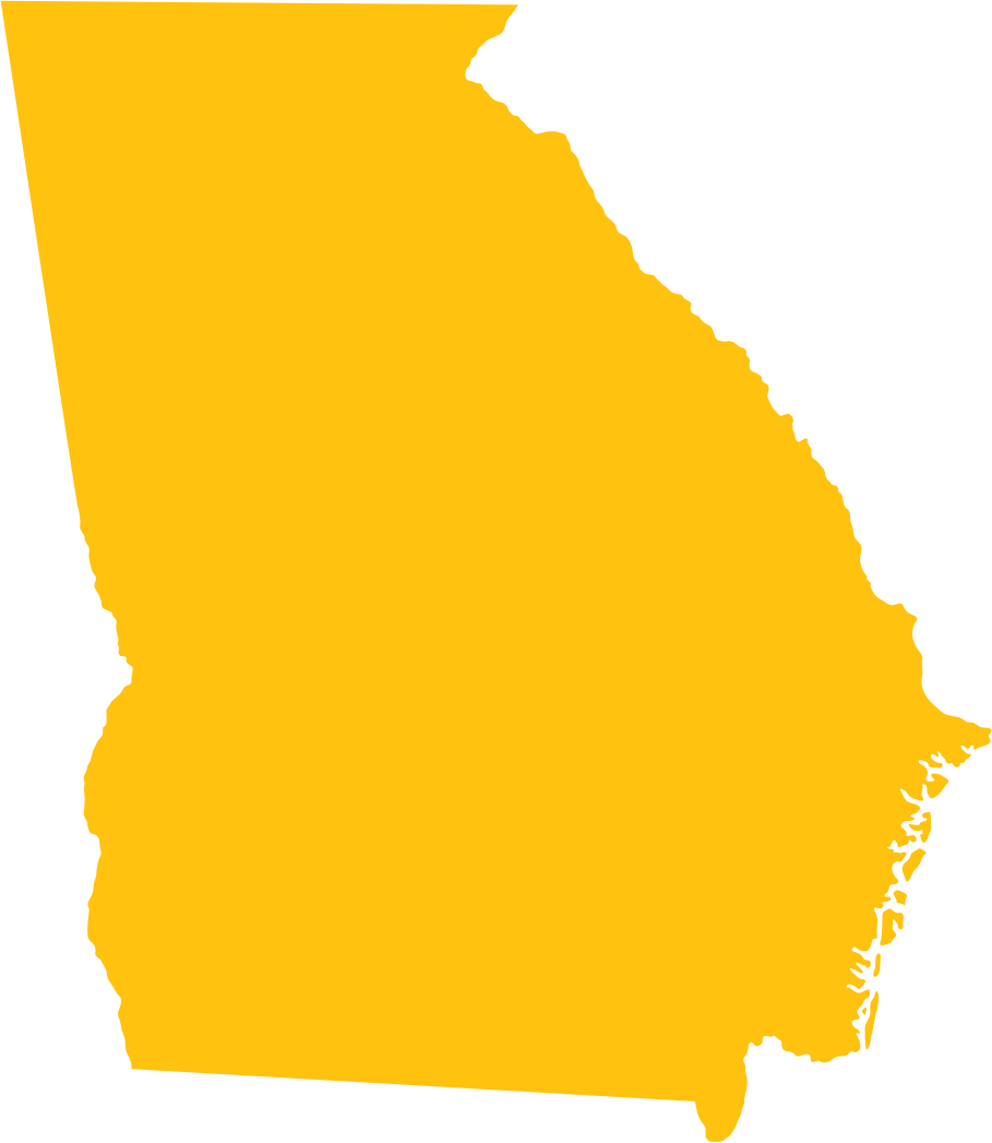 Georgia outline png. State icons free and