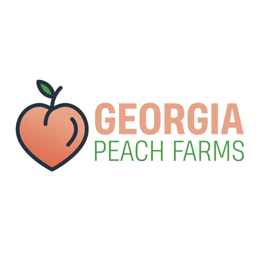 Georgia peach png. Logo by jrequeallday on