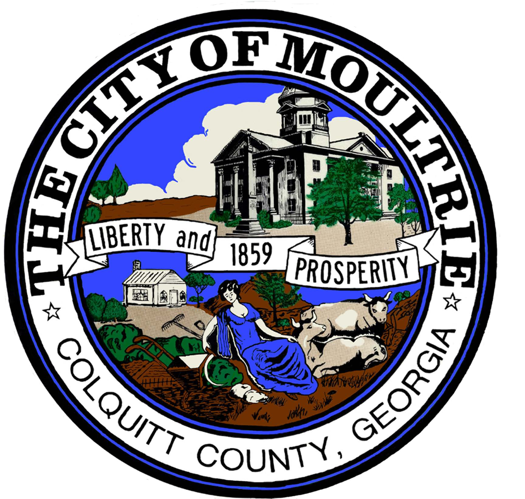 Georgia seal png. City of moultrie edge