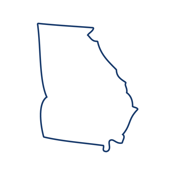 Georgia state outline png. Energy efficiency day