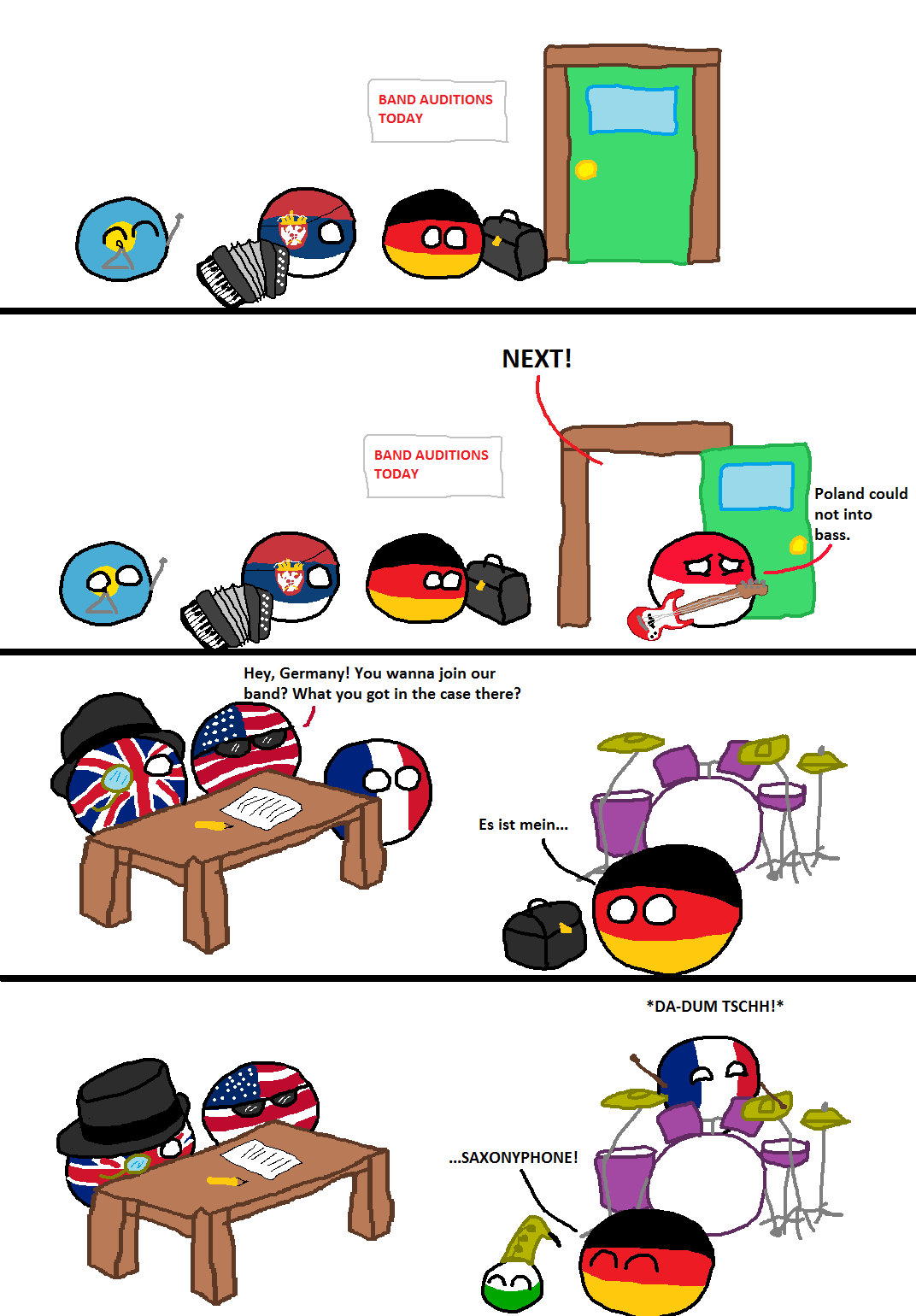 German clipart band baja. Auditions polandball welcome to